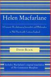 Helen MacFarlane : A Feminist, Revolutionary Journalist, and Philosopher in Mid-Nineteenth-Century England, Black, David, 0739108646