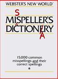 Misspeller's Dictionary, New World Dictionary Editors, 0671468642
