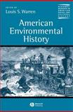 American Environmental History, , 0631228640