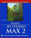 Inside 3D Studio Max 2 : Modeling and Materials, Boardman, Ted, 1562058649