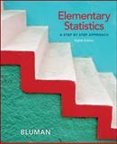 Elementary Statistics : A Step by Step Approach, Bluman, Allan, 0077438655