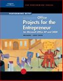Microsoft Office Projects for the Entrepreneur : Microsoft Office XP and 2000, Blanc, Iris and Vento, Cathy, 061905865X