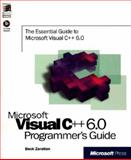 Microsoft Visual C++ 6.0 Programmer's Guide, Zaratian, Beck, 157231866X