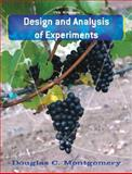 Design and Analysis of Experiments, Montgomery, Douglas C. and Montgomery, Douglas C., 0470128666