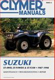 Suzuki Lt-4wd, Lt-4wdx and Lt-F250, 1987-1998, Ed Scott, 0892878665