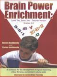 Brain Power Enrichment: Level Two, Book Two - Teacher Version Grades 6 - 8, Reuven Rashkovsky, 1467068667