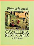 Cavalleria Rusticana in Full Score, Pietro Mascagni, 0486278662