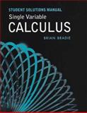 Single Variable Calculus Student Solutions Manual, Rogawski, Jonathan D., 0716798662