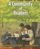 A Community of Readers : A Thematic Approach to Reading, Alexander, Roberta and Lombardi, Jan, 0618918663