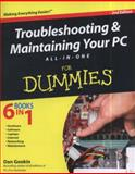 Troubleshooting and Maintaining Your PC All-in-One for Dummies®, Dan Gookin, 0470878673