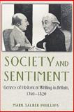 Society and Sentiment 9780691008677