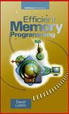 Efficient Memory Programming, Loshin, David, 0070388687