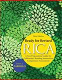 Ready for Revised RICA : A Test Preparation Guide for California's Reading Instruction Competence Assessment, Zarrillo, James J., 0137008686