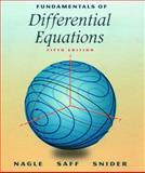 Fundamentals of Differential Equations, Nagle, Kent B. and Saff, Edward B., 0201338688