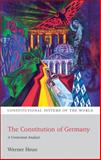 The Constitution of Germany : A Contextual Analysis, Heun, Werner, 1841138681