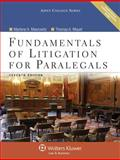 Fundamentals of Litigation for Paralegals 7e W/ Cd, Maerowitz, 073559869X
