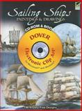 Sailing Ships Paintings and Drawings CD-ROM and Book, , 048699869X