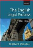 English Legal Process, Ingman, Terence, 019926869X