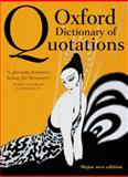 Oxford Dictionary of Quotations, , 0199668701