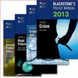 Blackstone's Police Manuals 2013: Four Volume Set, Connor, Paul and Johnston, David, 0199658706