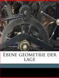 Ebene Geometrie der Lage, B&ouml and Rudolf ger, 1149348704