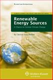 Renewable Energy Sources : A Chance to Combat Climate Change, Fräss-Ehrfeld, Clarisse, 9041128700