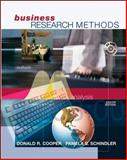 Business Research Methods, Cooper, Donald R. and Schindler, Pamela S., 0072498706