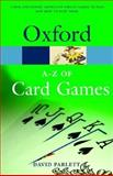 The A-Z of Card Games, David Parlett, 0198608705