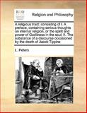A Religious Tract, L. Peters, 1170168701