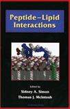 Peptide-Lipid Interactions, McIntosh, Thomas J., 0126438714