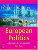 European Politics : A Comparative Introduction, Bale, Tim, 1403918716