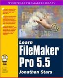 Learn FileMaker Pro 5.5, Jonathan Stars, 1556228716