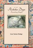 Ricksha Days, Leta Tucker Hodge, 1936688719