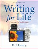 Writing for Life, Henry, D. J. and Dorling Kindersley Publishing Staff, 0205668712