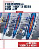 An Introduction to Programming and Object-Oriented Design Using Java 9780470128718