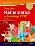 Core Mathematics for Cambridge IGSCE, David Rayner, 0199138729