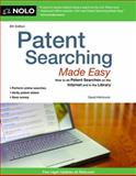 Patent Searching Made Easy, David Hitchcock, 141331872X