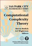Computational Complexity Theory, Steven Rudich and Avi Wigderson, 082182872X