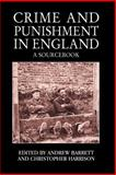 Crime and Punishment in England 1st Edition
