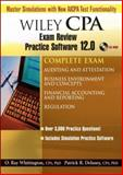 Wiley CPA Examination Review Practice Software 12. 0 - Complete Set, Delaney, Patrick R. and Whittington, O. Ray, 047179872X