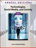 Annual Editions: Technologies, Social Media, and Society 12/13, De Palma, Paul, 0073528730