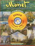 Monet Paintings and Drawings, Carol Belanger Grafton and Claude Monet, 0486998738