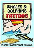 Whales and Dolphins Tattoos, Ruth Soffer, 0486298736