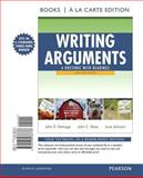 Writing Arguments : A Rhetoric with Readings, Brief Edition, Books a la Carte Edition, Ramage, John D. and Bean, John C., 0205238734