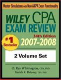 Wiley CPA Examination Review : 2007-2008 Set, Delaney, Patrick R. and Whittington, O. Ray, 0471798738