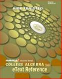 College Algebra, Trigsted, Kirk, 0321748735