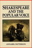 Shakespeare and the Popular Voice 9780631168737