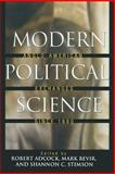 Modern Political Science : Anglo-American Exchanges since 1880, , 069112874X