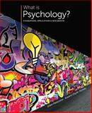 What Is Psychology? : Foundations, Applications, and Integration, Pastorino, Ellen E. and Doyle-Portillo, Susann M., 1305088743