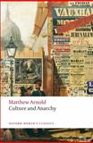 Culture and Anarchy, Matthew Arnold, 0199538743